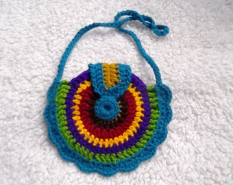 Clearance. Crochet Purse.