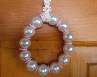 """Bead and Button Ornament """"Princess"""""""