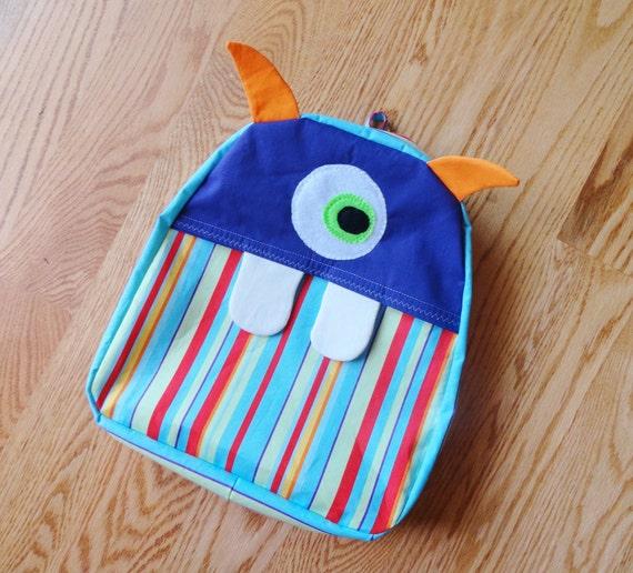 Toddler Monster Backpack (FREE Shipping)