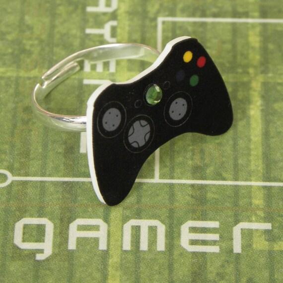 GIRL GAMER Black Xbox 360 Elite Video Games Controller Ring XBOX360