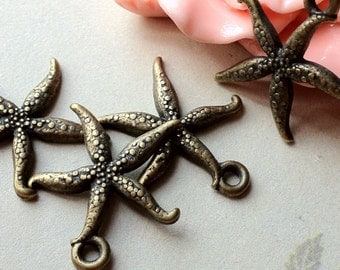 18 x 20 mm Antique Bronze Cute Charm Pendant (.am)