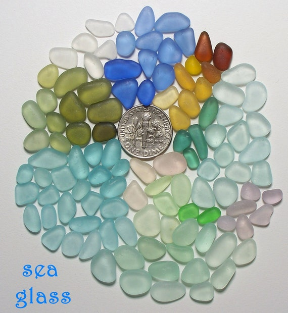 Teeny Tiny Moonstone Genuine Beach Sea Glass Lot (U2) Free Shipping in US