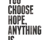 Choose Hope Anything Is Possible (Black) -- FREE Worldwide Shipping