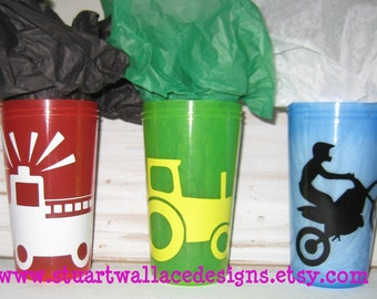 Personalized / Custom Toddler BPA free Sippy Cup - Spill Proof, Birthday Gift
