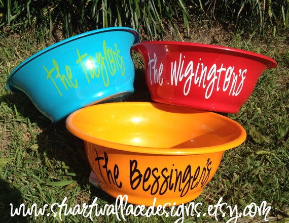 Personalized POPCORN Bowl, Gift