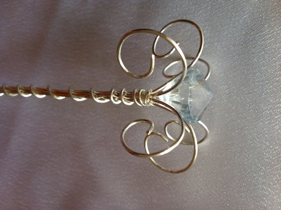 Fairy Wand or Princess Scepter - Jewel Wand-