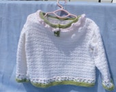 Sweet Rose Doll Sweater