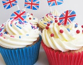 Union Flag / Jubilee Cupcake Kit