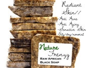1 oz (sample)RAW/UNFILTERED African Black Soap//Anti Aging, Anti Acne, Rosacea, & More..