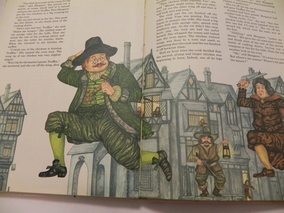 1974 My Fairytale Cook Book  - R.C. Scriven - Illustrated by Andrew Skilliter