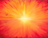 """FREE SHIPPING - Limited Edition Sunset Print - 5""""x7"""""""