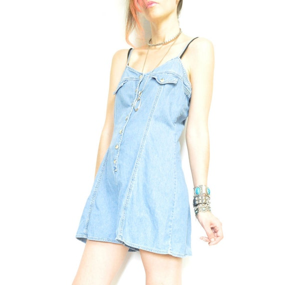 90s DENiM ROMPER