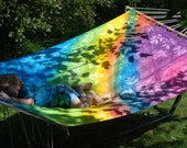Hand Dyed Hand Sewn Hammock