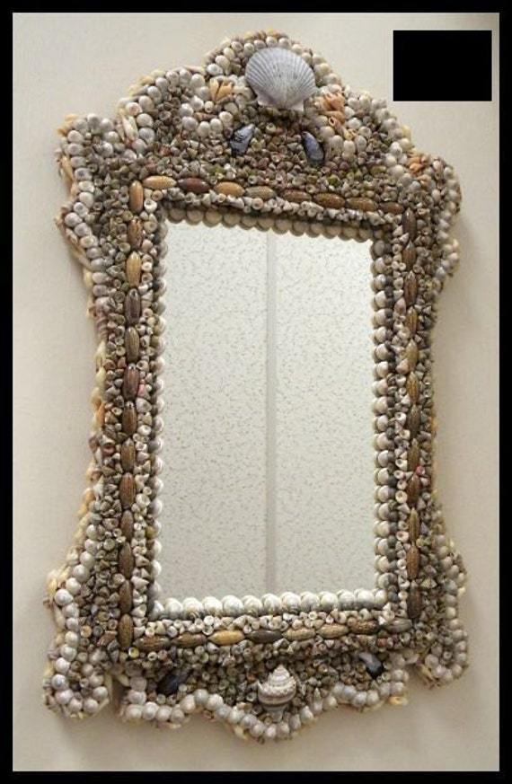 shell bathroom mirror unavailable listing on etsy 14394