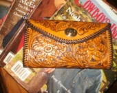 womans check book wallet