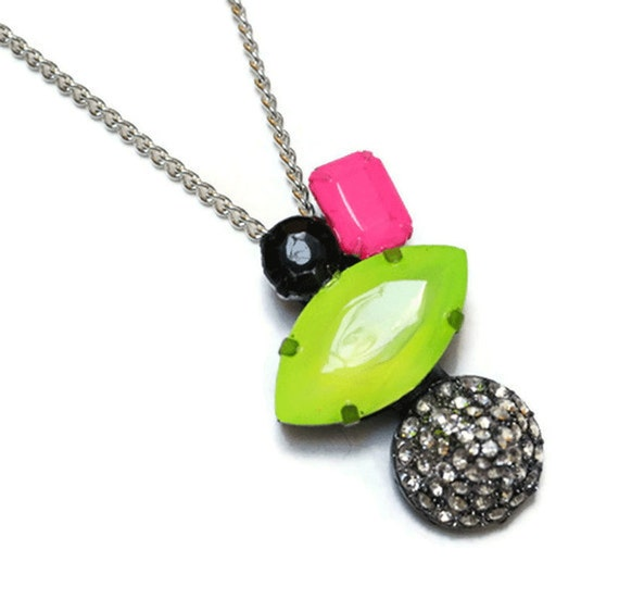 neon necklace Neon Whimsy Cone
