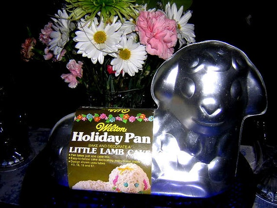 Vintage 1974 Wilton Lamb Cake Pan Never Used With Label Bake