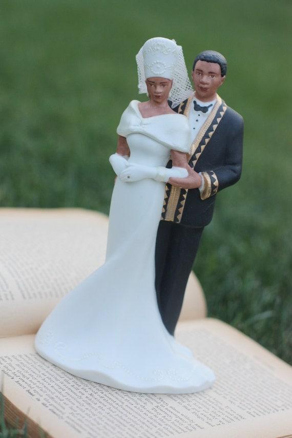 nigerian wedding cake toppers vintage wedding cake topper 1990s by 17878
