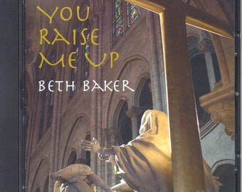 Beth Baker Artist Gospel Singer Pop Jazz Black Gospel You Raise Me Up Music Cd, Holiday gift ideas, stocking stuffer, gift for music lover