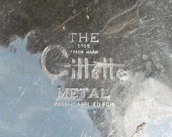 Gillette Metal Hot Water Bottle, Bed Warmer