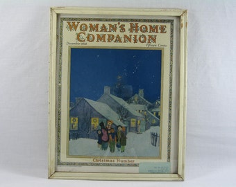 Womans Home Companion Magazine, Shabby Chic, Framed Wall Art