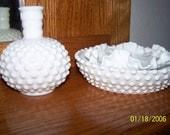 Hobnob Hobnail Scalloped Bowl Vase