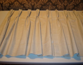 Pinch Pleated Drapes - Custom Made - Set of two - Price is an approximation only - See below for details