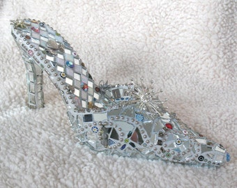 You Are Beautiful  - mosaic shoe
