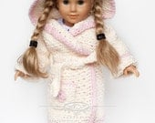 American Girl Doll/18 inch Doll Clothes /bathrobe and slippers