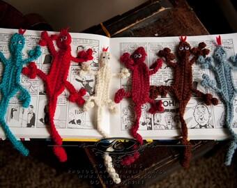 Bookmark Lizards