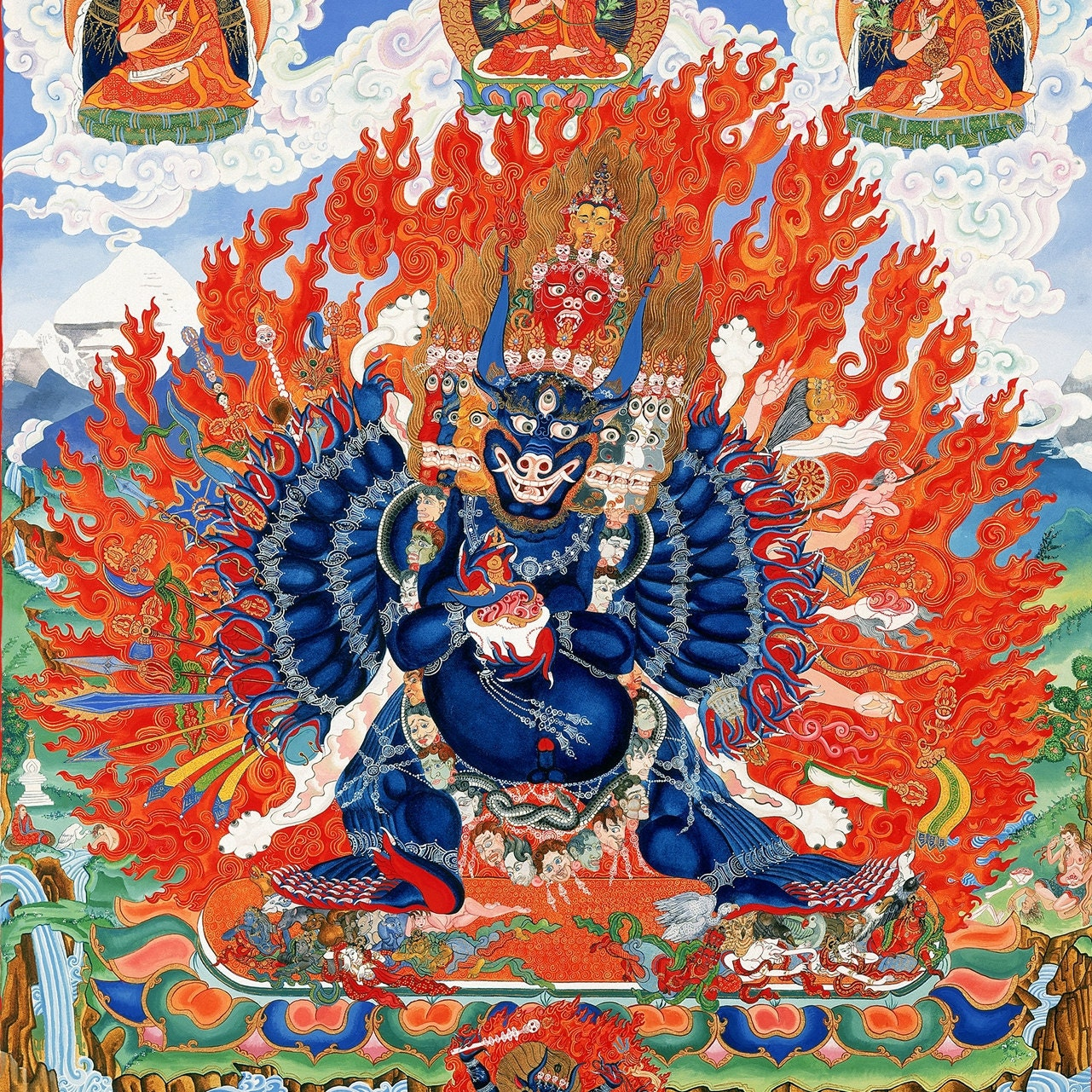 Image result for yamantaka
