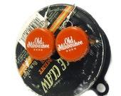 Beerings Bottle Cap Earrings - Old Milwaukee -