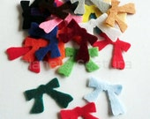 Felt loops. Set de 20 pieces
