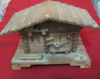Music Box, hand made village house