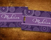 Purple Parfait Personalized Bag/Luggage Tag
