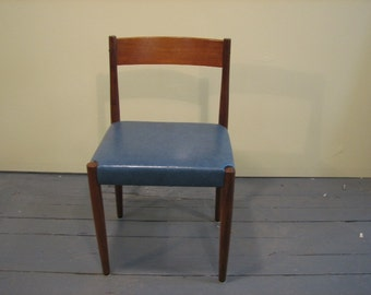 Mid Century Modern Poul Volther for Frem Rojle Danish side chair