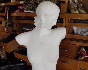 Vintage Life Size Mannequin, Movie Prop, Statue, Very French by Design.