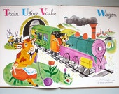 Mon grand alphabet by Romain Simon, Vintage Children Book.