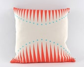 Custom listing for Elizabeth F. // two circus triangle cushions