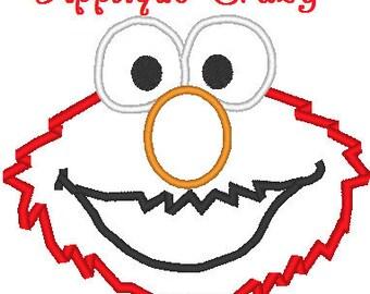 Elmo Applique design