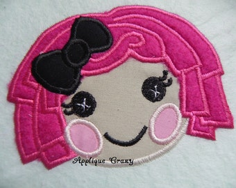 Doll Face Applique design