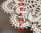 lacy DOILY PATTERN  PDF file