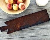 Large Rustic Walnut Bread Board