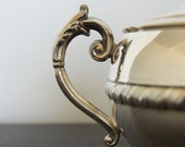 Creamer and sugar bowl, Silver plated, Vintage - set