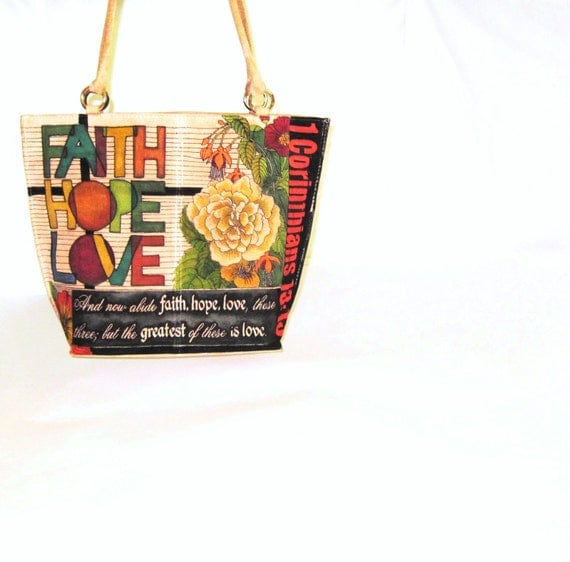 Hand Painted Handbag Book Bag Suede