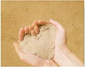 Photo Print 8x10 - Home Decor - Sand Heart Summer Beach - Natural Simple Home - Valentine Gift for Her