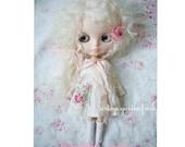 henriette jardin vintage garden frock dress for blythe dolls