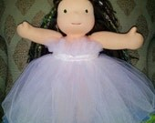 "Tulle Ruffled Top Dress to fit a 15"" Waldorf Style Doll"