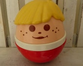 Little Tikes Weeble Wobble Chime Toy- Chunky People Roly Poly