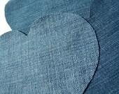 Heart Applique Denim